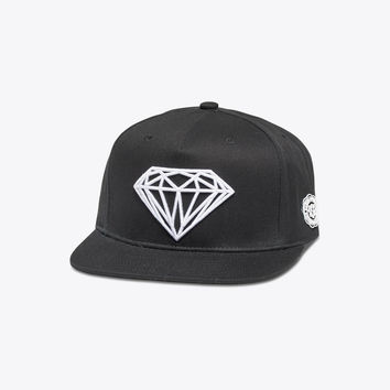 Diamond Supply Co. - Brilliant Snapback - Black