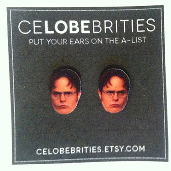 Dwight Schrute Earrings