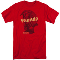 LABYRINTH/LUDO FRIEND-S/S ADULT TALL-RED