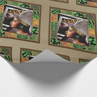 Nubian King & Queen Wrapping Paper