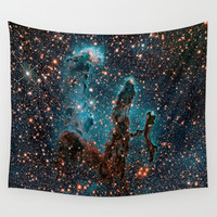 SPACE Wall Tapestry by 2sweet4words Designs