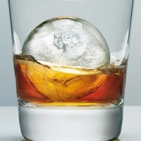 "2.5"" Whiskey Ice Ball Mold - Largest on the Market - Great for Whiskey , Scotch , Bourbon , or Any Liquor on the Rocks (2 Pack)"