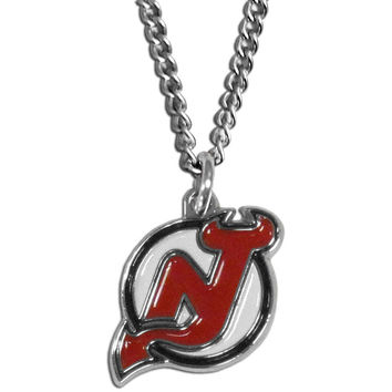 New Jersey Devils Chain Necklace