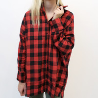 Lloyd Oversized Buffalo Check Flannel