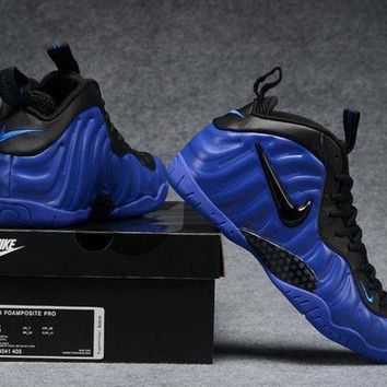 Air Foamposite Pro Royal Blue/black Shoe