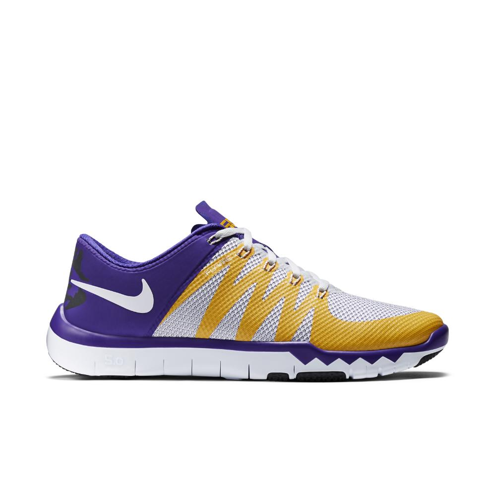 Nike Free Trainer 5.0 Chambre Violet Et Blanc