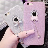 Hot! Luxury Candy Crystal Bling Glitter Powder - Soft Phone Case - iPhone 5/5s/6/6 plus