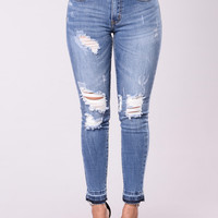 Old Tricks Jeans - Medium Wash
