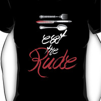 Hannibal - Eat the Rude (Vintage style) Women's T-Shirt