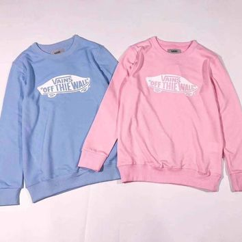 Vans sdkateboard logo Printed Turtleneck Top Sweatshirt Sweatshirt F