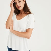 AE Soft & Sexy V-Neck T-Shirt, Natural White