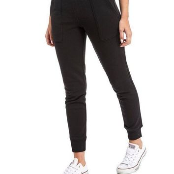 calvin klein fashion stretch gym sport running pants trousers sweatpants trousers-1