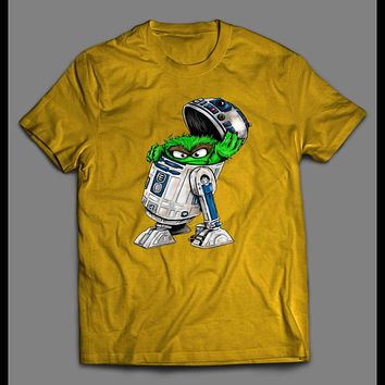 SCRAM D2 ROBOT TRASH CAN SHIRT