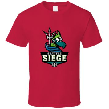 The Seattle Seige Video Games T Shirt