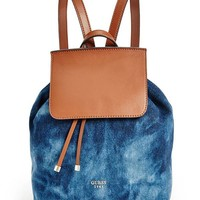 Camylle Denim Backpack at Guess