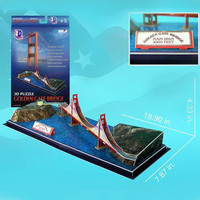 Golden Gate Bridge 3D Puzzle - 20 Pieces