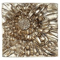 Dahlia Plaque | Wall Decor | Mirrors & Wall Decor | Decor | Z Gallerie