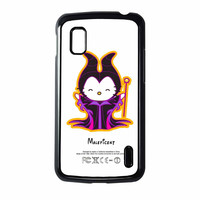 Hello Kitty Love Maleficent Disney Nexus 4 Case
