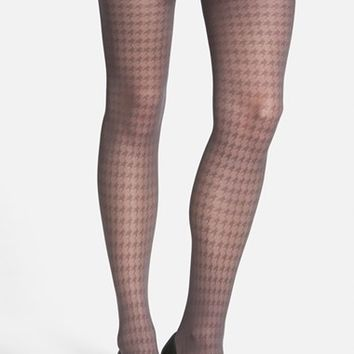 Women's Vince Camuto Houndstooth Tights ,