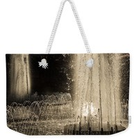 Silver Fountains Dancing In The Sun Weekender Tote Bag