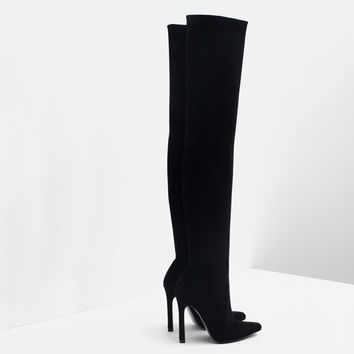 XL LEATHER BOOT