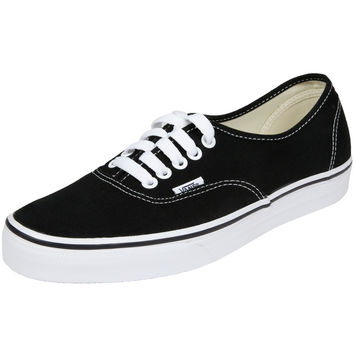 Vans - Authentic Black Shoes