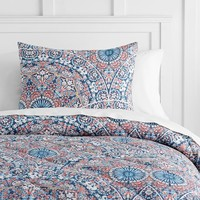 Majestic Medallion Value Comforter with Sheets, Pillowcase, Comforter + Sham
