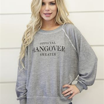 Wildfox Sommers Hangover Sweater in Heather