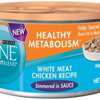 Purina ONE Healthy Metabolism White Chicken 24/3 oz