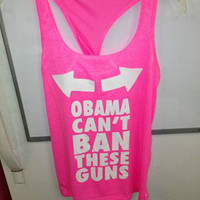 Obama Can't Ban these Guns with or without Bow
