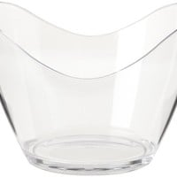 Prodyne G-4-C Four Bottle Tub, Clear