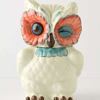 A Real Hoot Jar Canister