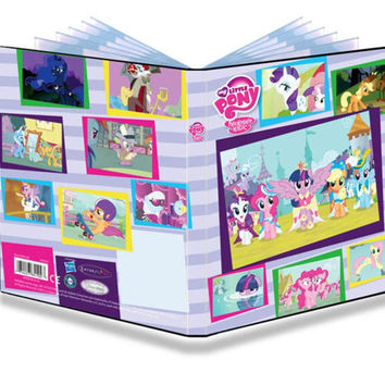 Ultra Pro My Little Pony 4 Pocket Portfolio 84102