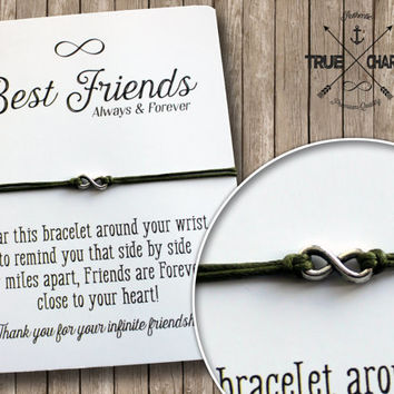 Best Bff Infinity Bracelet Products On Wanelo
