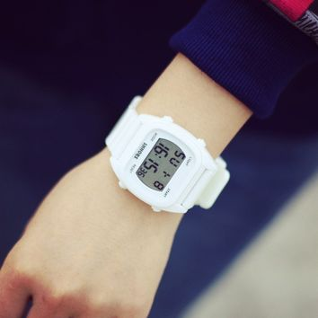 Sweets Watch Stylish Fashion Casual Sports Watch Waterproof Digital Watch [6045789569]