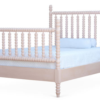 Pink Harriett Spindle Panel Bed, Full, Panel Beds