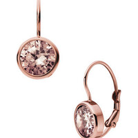 Michael Kors Lever-Back Earrings, Rose Golden