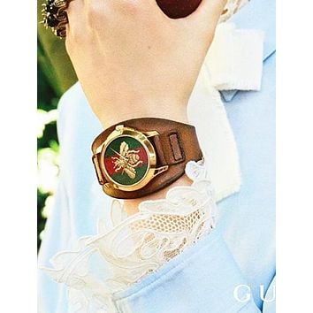 GUCCI Fashion Women Little Bee Ltaly Stylish Watch