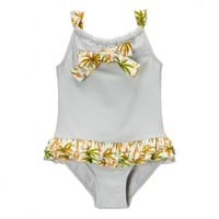 Gray Palm Tree Swimsuit - New Arrivals