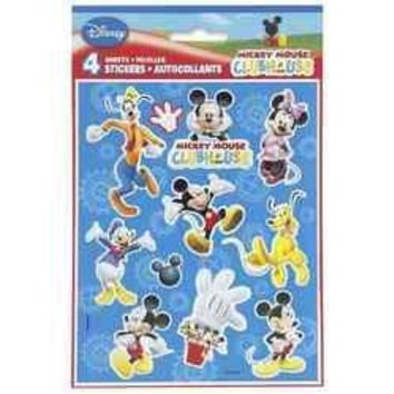 Mickey Mouse Clubhouse Party Stickers [4 Sheets]