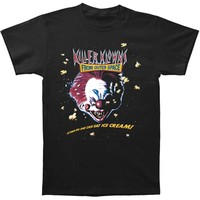 Killer Klowns From Outer Space Men's  Ice Cream T-shirt Black