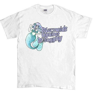 Mermaids Against Misogyny #2 -- Unisex T-Shirt