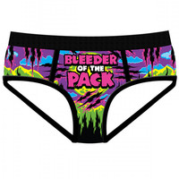 "Women's ""Bleeder of the Pack"" Period Panties by Harebrained!"
