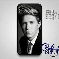 Black White One Direction Niall Horan-IPhone 4/4s,IPhone5/5s,Accessories,Case,Cellphone,Samsung galaxy S4,Samsung galaxy S3-AA0910-15