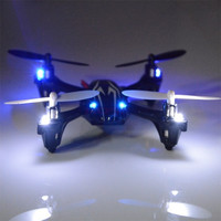 Upgraded Hubsan X6 H107L 2.4G 4Ch Radio Control RC Quadcopter Led Light Gyro RTF SV004462 Baby = 1745561028