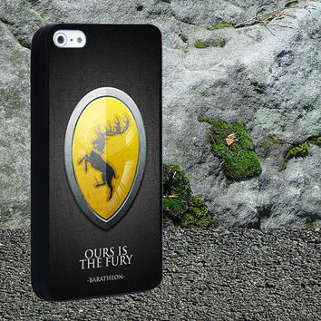 Game of Thrones Ours Is The Fury Case for iPhone 4/4s,iPhone 5/5s/5c,Samsung Galaxy S3/s4 plastic & Rubber case, iPhone Cover