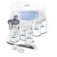 Philips Avent Anti-colic bottle BPA Free Baby Bottle Essentials Gift Set, SCD398/01 - Walmart.com