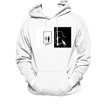 Harry Potter Ravenclaw MEN WOMEN UNISEX PULLOVER FUNNY GRAPHIC HOODIE - White