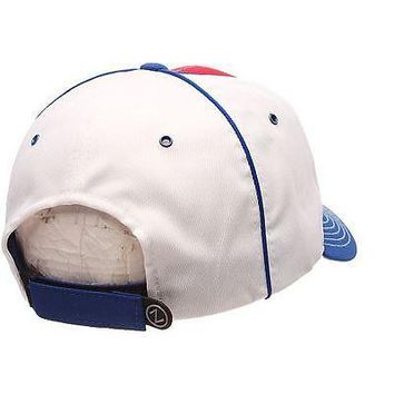 New York Rangers Hat NHL Men's Adjustabale Uprising Cap White/Red