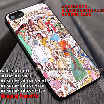 Heart of a Princess Disney, Disney Princess, Accessories, Rapunzel, Jasmine, Pocahontas, case/cover for iPhone 4/4s/5/5c/6/6+/6s/6s+ Samsung Galaxy S4/S5/S6/Edge/Edge+ NOTE 3/4/5 #cartoon #disney #animated #disneycastle #movie ii